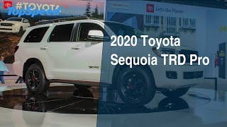 2020 Toyota Sequoia TRD Pro - Everything you need to know