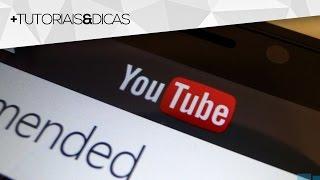 Como colocar marca d'água no vídeo usando sistema do YouTube