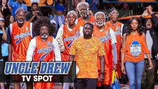 """Uncle Drew (2018 Movie) Official TV Spot """"Team of Pros"""" - Kyrie Irving, Shaq, Tiffany Haddish"""