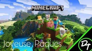Live Minecraft  : Joyeuse pâques !!!  [FR/PS4]