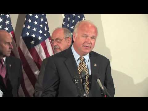 Republican Press Conference on the Gulf Coast oil spill