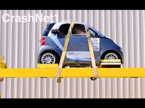 2013 Smart Fortwo Electric Drive краш-тест