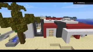 [Minecraft] Casa Moderna Custum map