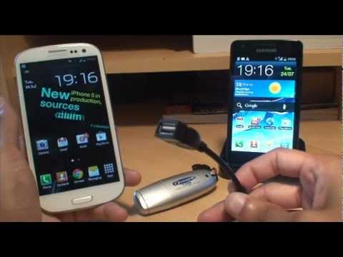 Samsung Galaxy S3 & S2: How to Increase Storage Using USB OTG