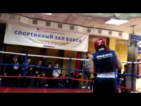 Алексеев Никита (Сочи)  Vs Чолокян (чемпион Абхазии) бокс отбор на Край 16 января 2016 финал