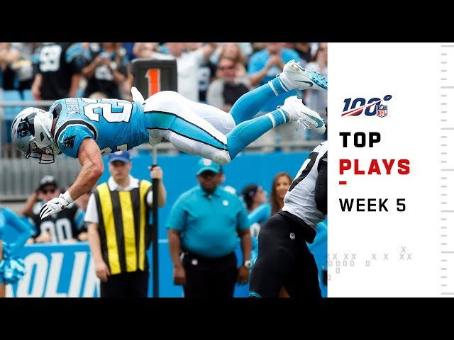 Top 15 Plays from Week 5 | NFL 2019 Highlights thumbnail