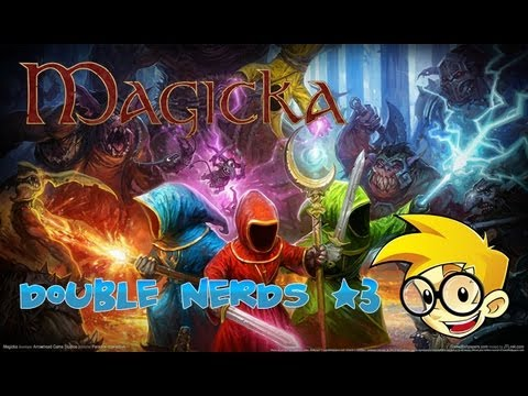 Magicka - Double Nerds #3 - Nerds Primatas