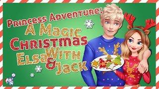 Game For Girls: Princess Adventure - A Magic Christmas With Elsa & Jack (Christmas 2018)
