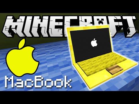 КАК СДЕЛАТЬ ЗОЛОТОЙ МАКБУК ПРО В MINECRAFT БЕЗ МОДОВ   Apple MacBook PRO only one command