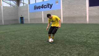 Falcao skill tutorial | How to do the drag back and stab