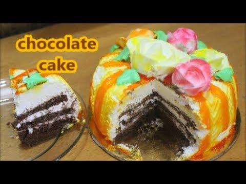 step by step करा icing,decoration आणि घरात बनवा मार्केट सारखं सॉफ्ट,क्रीमी केक/recipe in Marathi