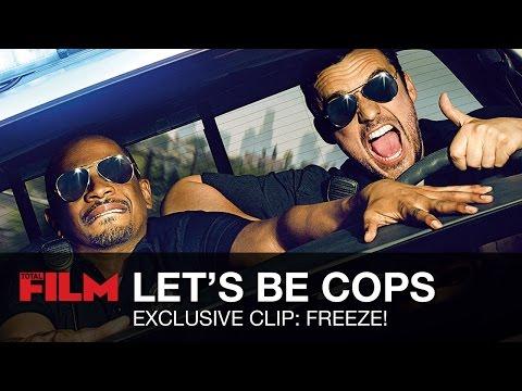 Exclusive Let's Be Cops Clip: FREEZE!