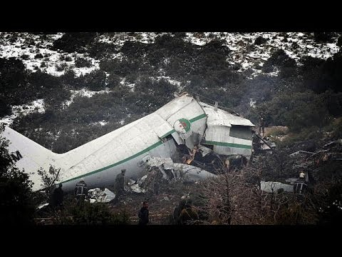 Investigation launched: Algerian mountain air crash leaves scores dead