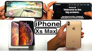 iPhone XS Max (Gold) - Unboxing, Review & Camera Test!