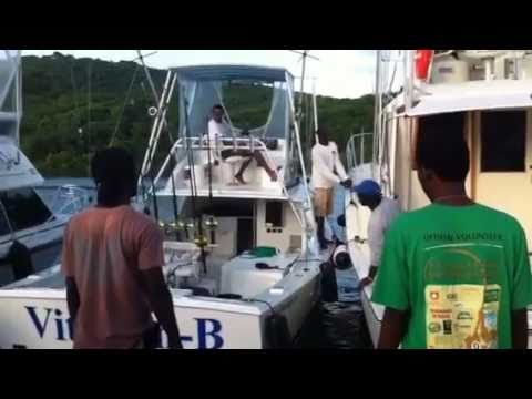 45th Antigua Barbuda Sport Fishing Tournament 2011 first day