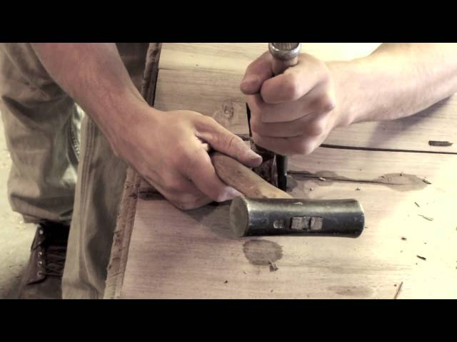 Handcrafted Butterfly Joint Woodworking by Taylor Donsker Design