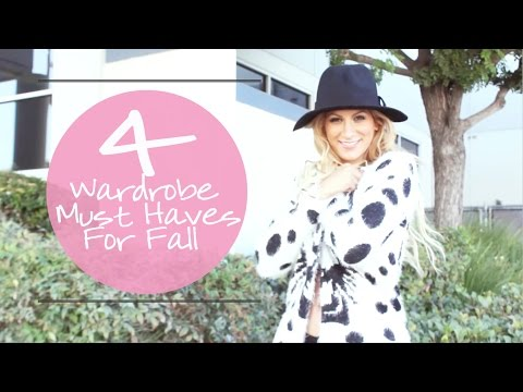 4 Basic Wardrobe Must Haves for Fall