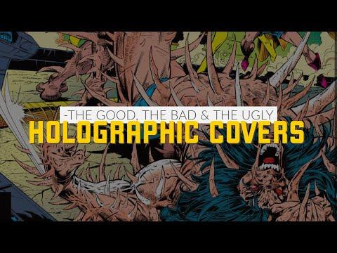 Spider-Man, Robin and Wolverine Holograms | wolverine