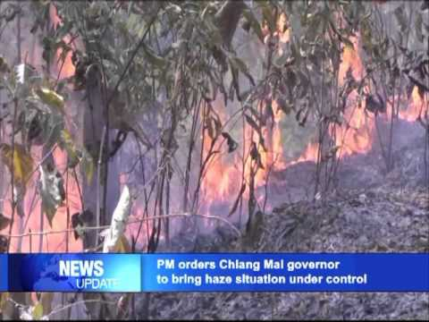 PM orders Chiang Mai governor bring haze situation under control