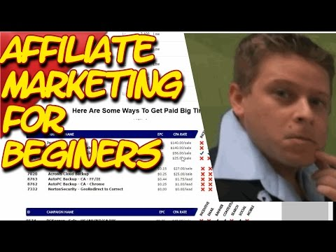 Affiliate Marketing For Beginners 2016 How Affiliate Programs Work