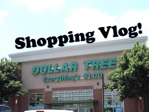 Dollar Tree Shopping Trip!   VLOG