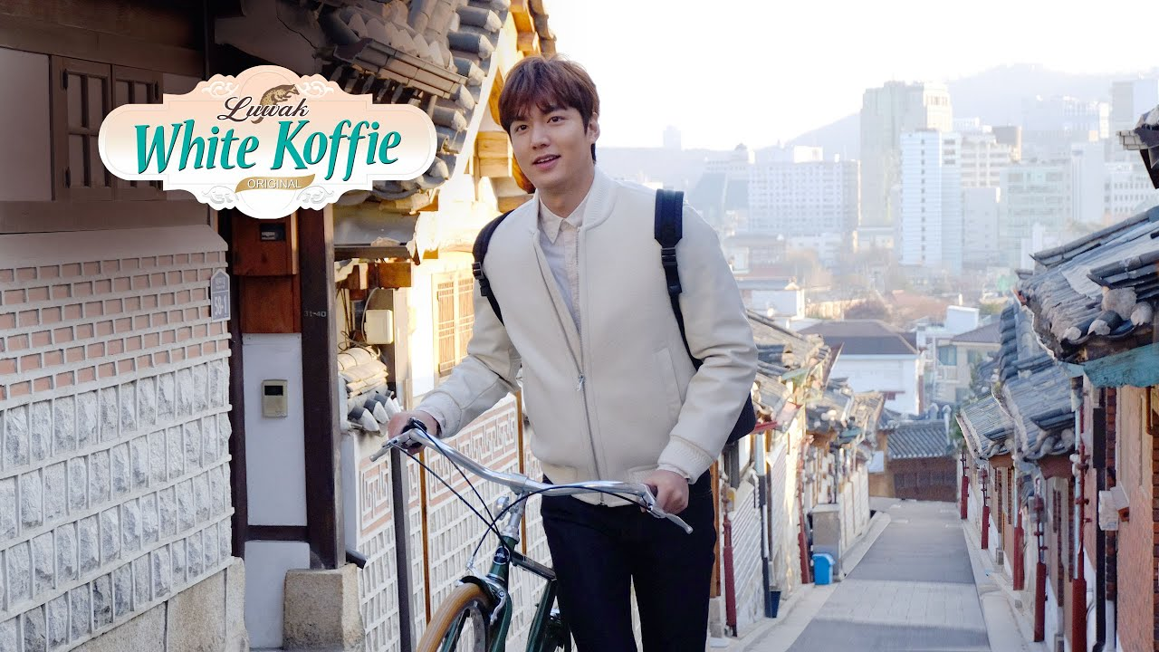 Bintang iklan Luwak White Koffie Lee Min Ho
