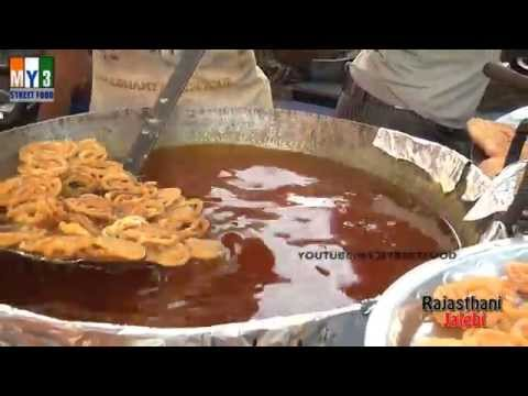 RAJASTHANI JALEBI | GOA STREET FOOD | INDIAN STREET FOOD