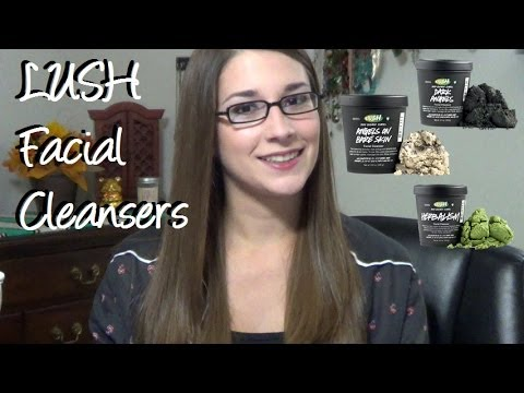 Lush Facial Cleansers Reviews : Herbalism. Dark Angels. Angels on Bare Skin