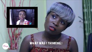 REACTING to my FIRST VIDEO on YouTube | The Fisayo
