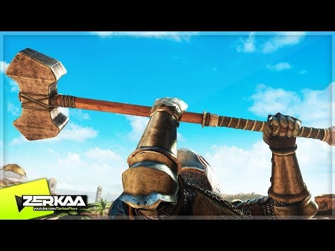 BECOMING A MEDIEVAL KNIGHT! (Chivalry: Medieval Warfare)