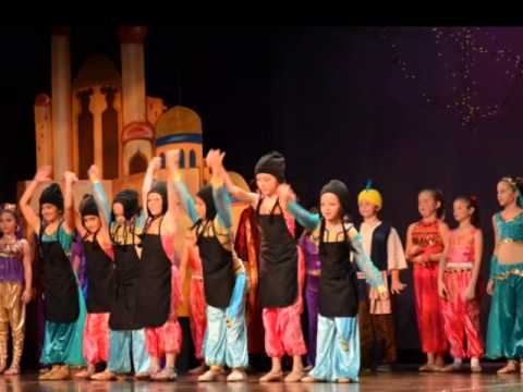 Rosarian Academy's Aladin - Isa's first productions