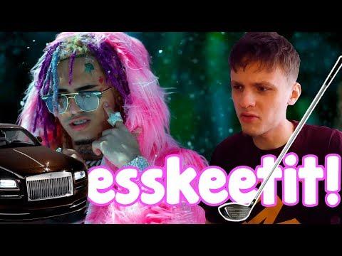 "ЛЭТС ГОУ! ПЕРЕВОД И РЕАКЦИЯ НА Lil Pump - ""ESSKEETIT"" (Official Music Video)"
