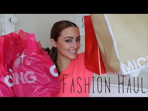 Clothing Haul! + Try On!