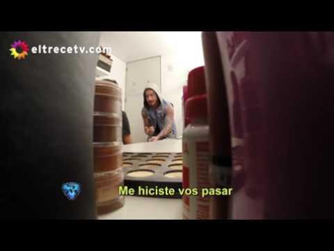 ShowMatch: ¡Pampita le hizo una cámara oculta a Fede Bal!