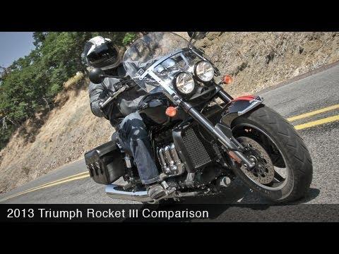 2013 Triumph Rocket III vs Ducati Diavel Strada - MotoUSA