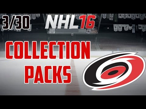 NHL 16: Carolina Hurricanes Collection (5 Reward Packs) 3/30