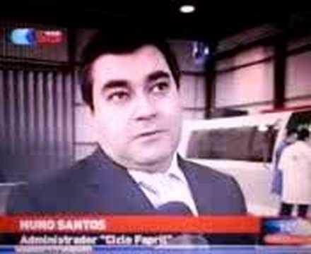 Reportagem da rtp � Ciclo-Fapril.Aguada de Cima.Agueda