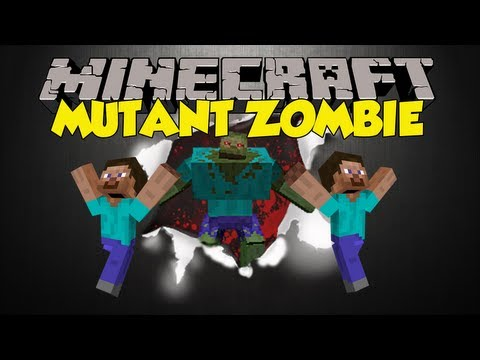 Minecraft Mod Showcase - Mutant Zombie!!!!