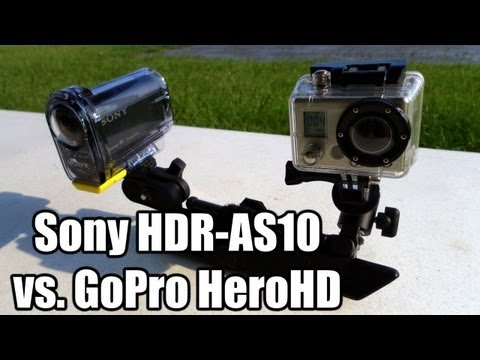 Sony HDR-AS10 vs. GoPro HeroHD