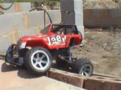 Red Jeep - Remote Control
