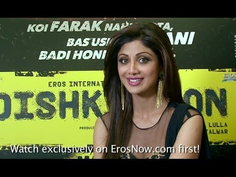 Shilpa Shetty Kundra Invites You To Check Out The Exclusive Trailer Of 'Dishkiyaoon' On ErosNow.com
