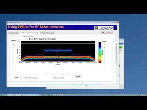 Flexible RF Measurements with NI LabVIEW FPGA