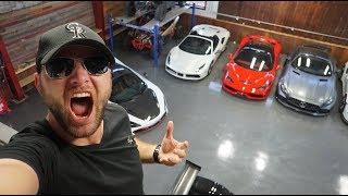 Meet the 16 y/o with the DREAM CAR Garage...
