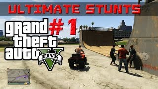 GTA 5 Ultimate stunt show 1 Montage HD