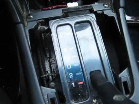 How To Replace The Shift Indicator Light On A 1996 99