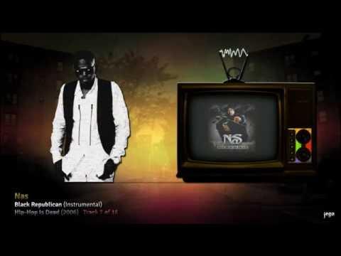 jegaTV.   Nas: 16. Black Republican (Instrumental)