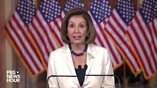 WATCH: Pelosi approves drafting impeachment articles against Trump