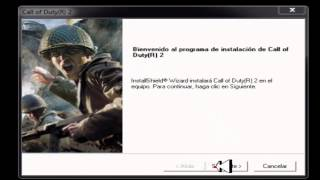 Como Descargar E instalar Call of Duty 2 FULL al Español 2 Links Super Comprimido (2014)