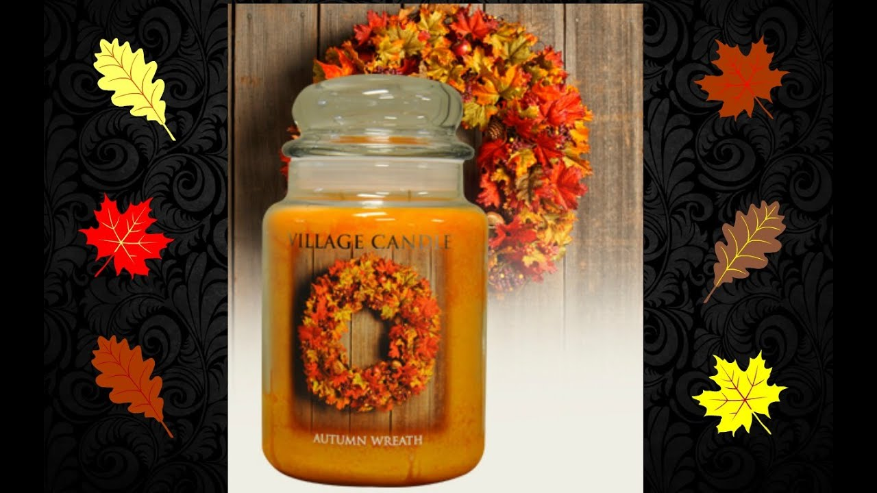 How Ebates Works >> Village Candle Review Autumn Wreath - YouTube