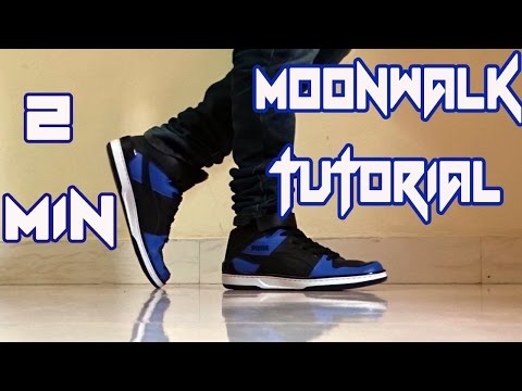 How to do the Moonwalk?    Learn in 2 mins    Nishant Nair Tutorial